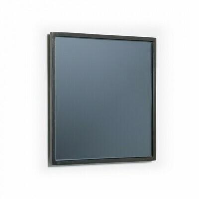 Espejo Mecata 25 x 25 cm negro