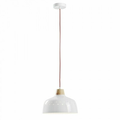 Lámpara de techo Bits de metal con acabado blanco