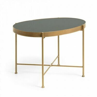Mesa auxiliar Marlet Ø 45 x 63 cm dorado