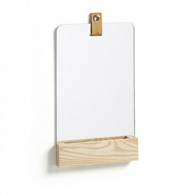 Espejo rectangular Brant 23 x 38 cm