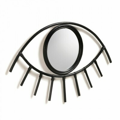 Espejo Maela 72 x 45 cm negro