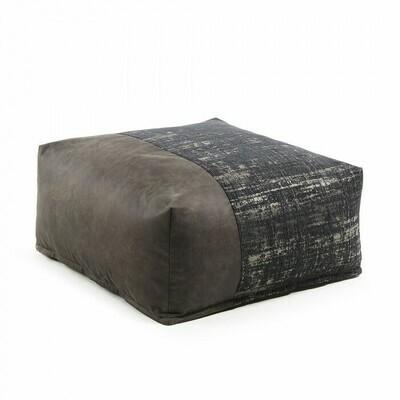 Puf Nazca 70 x 70 cm negro