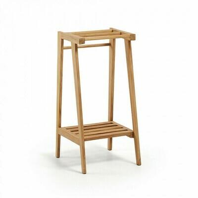 Toallero Kuveni de madera maciza de teca