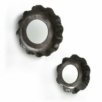 Set Karol de 2 espejos  Ø 47 / Ø 35 cm