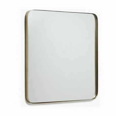 Espejo Marco 60 x 60 cm dorado