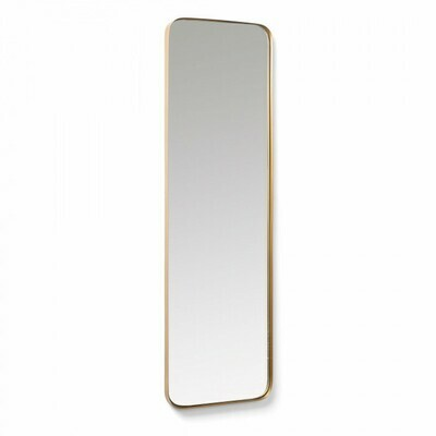 Espejo Marco 30 x 100 cm dorado