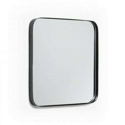 Espejo Marco 40 x 40 cm negro