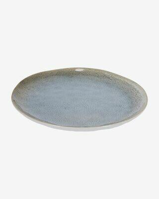 Plato plano Sachi azul claro