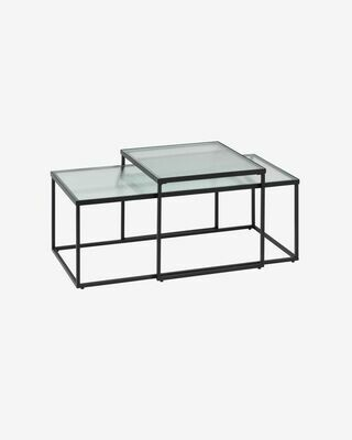 Set Akemi de 2 mesas de centro