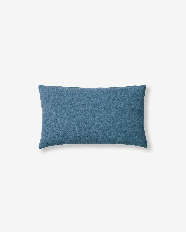 Funda cojín Kam 30 x 50 cm azul oscuro