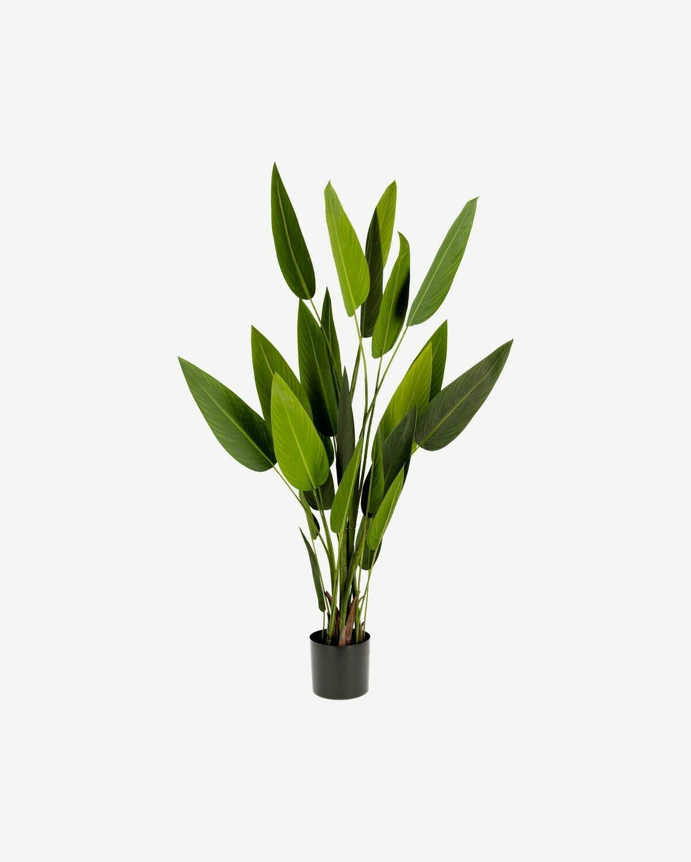 Planta strelitzia nicolai artificial Zelena