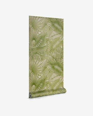 Papel pintado Tropic verde 10 x 0,53 m