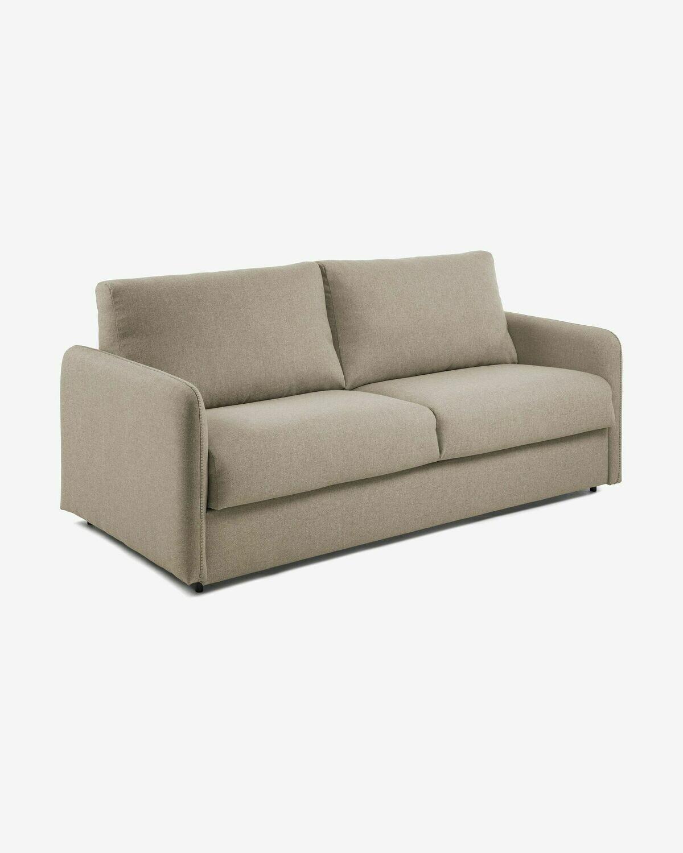 Sofá cama Kymoon 160 cm visco chrono beige