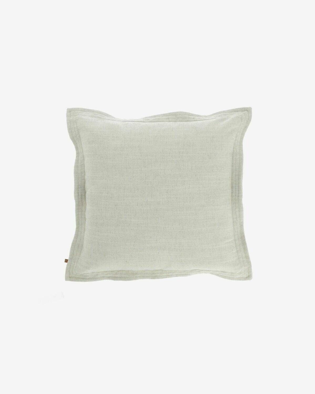 Funda cojín Maelina 45 x 45 cm blanco