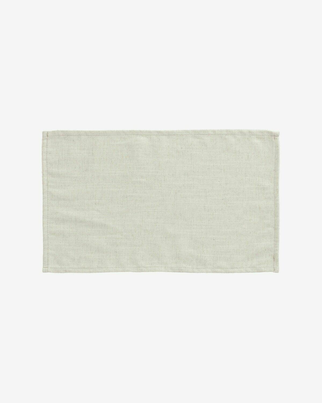 Set Samay de 4 manteles individuales blanco