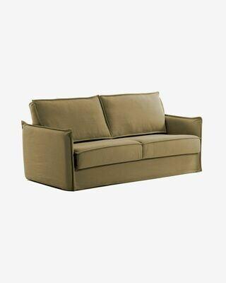 Sofá cama Samsa 140 cm visco marrón