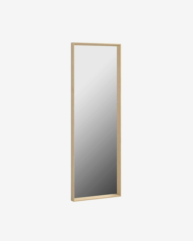 Espejo Nerina 52 x 152 cm con acabado natural