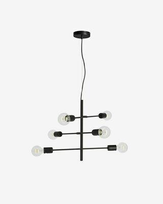 Lámpara de techo Spica de acero