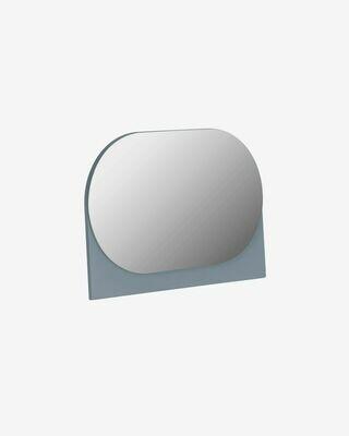 Espejo Mica 23 x 16 cm gris