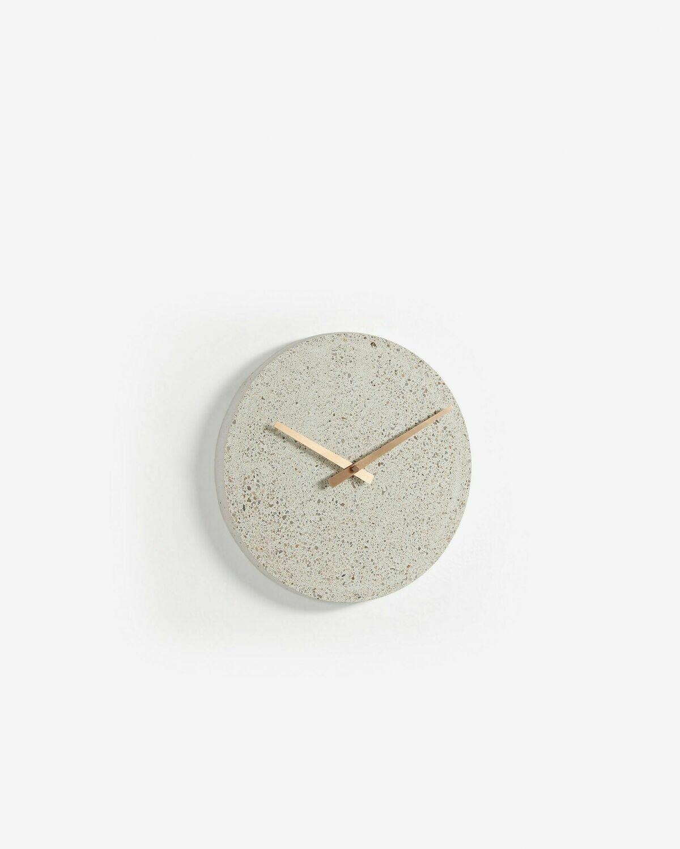 Reloj de pared Alexia Ø 27 cm beige