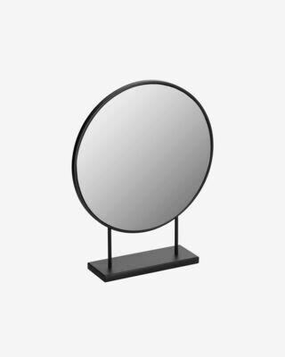 Espejo Libia de metal 36 x 45 cm