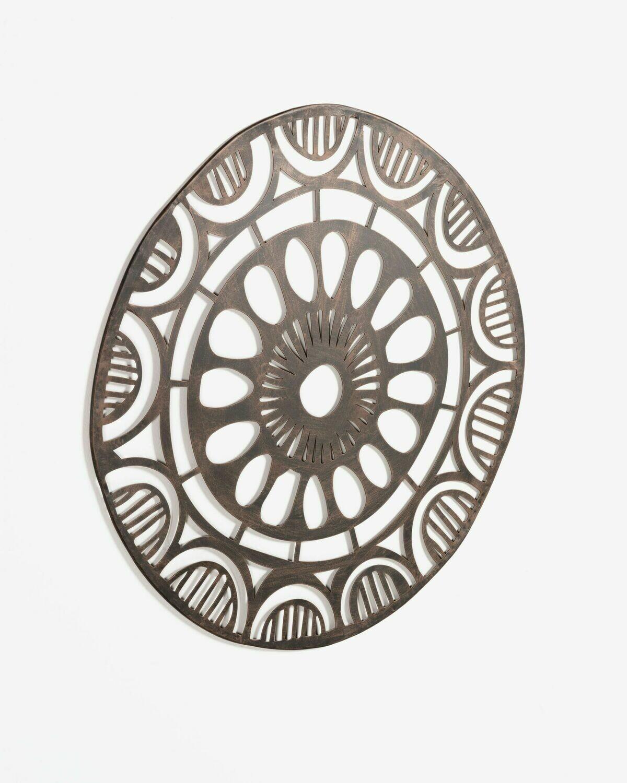 Cuadro metálico Atila Ø 72 cm
