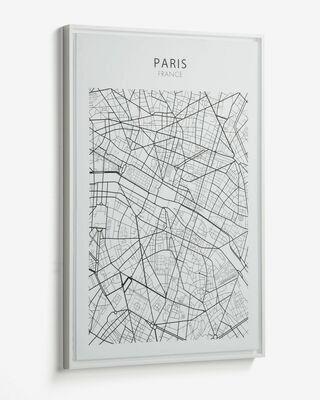 Cuadro Uptown 50 x 70 cm Paris