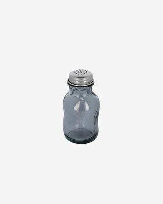 Salero Rohan de vidrio azul 100% reciclado
