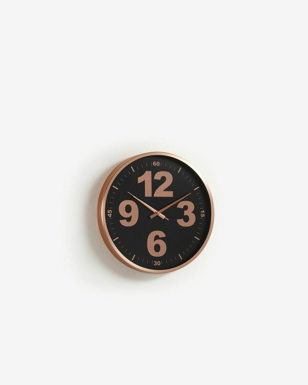 Reloj de pared Mentha cobre