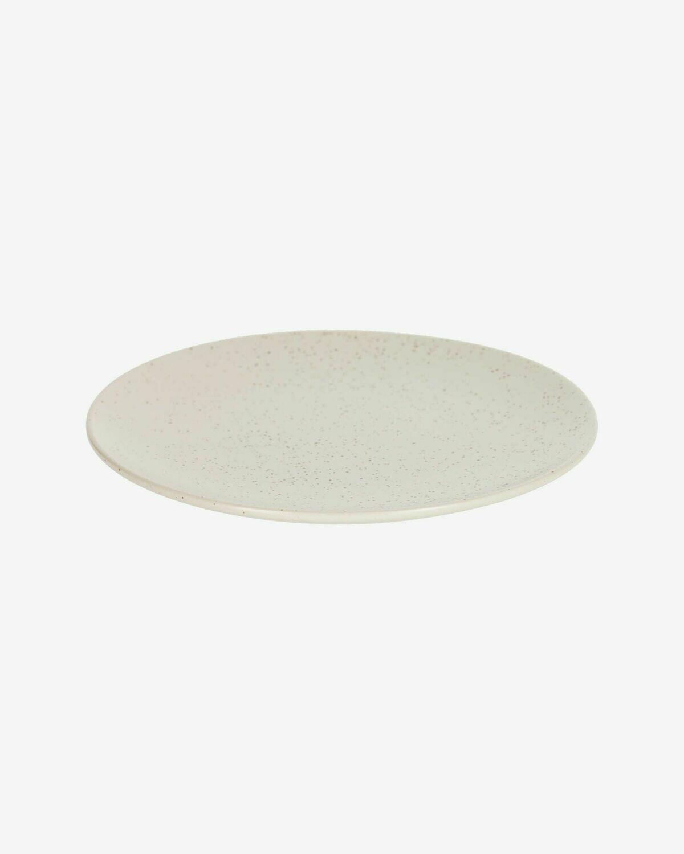 Plato plano Aratani blanco