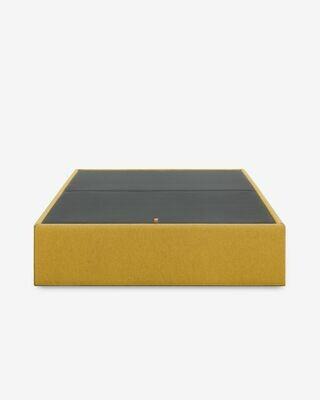 Canapé abatible Matter mostaza 160 x 200 cm