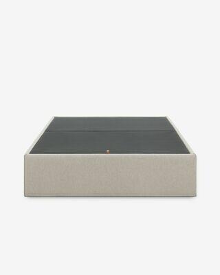 Canapé abatible beige Matter 150 x 190 cm