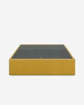 Canapé abatible Matter mostaza 150 x 190 cm