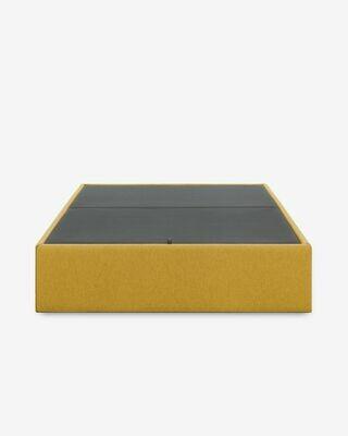 Canapé abatible Matter mostaza 90 x 190 cm