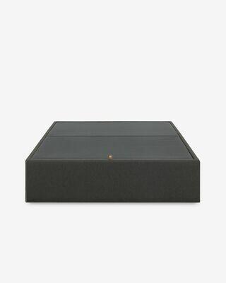 Canapé abatible Matter grafito 150 x 190 cm