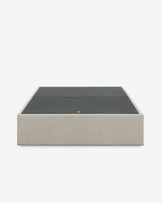 Canapé abatible Matter beige 160 x 200 cm