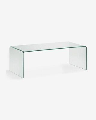 Mesa de centro Burano de cristal 110 x 50 cm