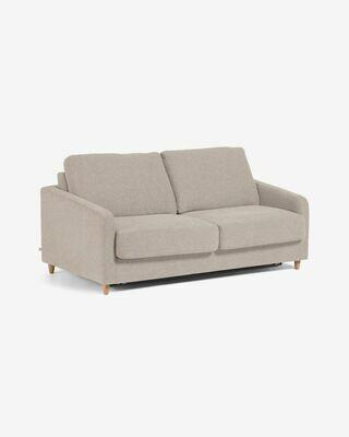 Sofá cama Celene beige 168 cm