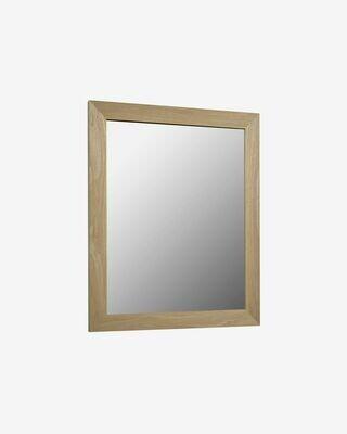 Espejo Nerina 47 x 57,5 cm con acabado natural