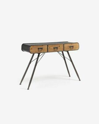 Consola Halie 120 x 75 cm de madera maciza de abeto