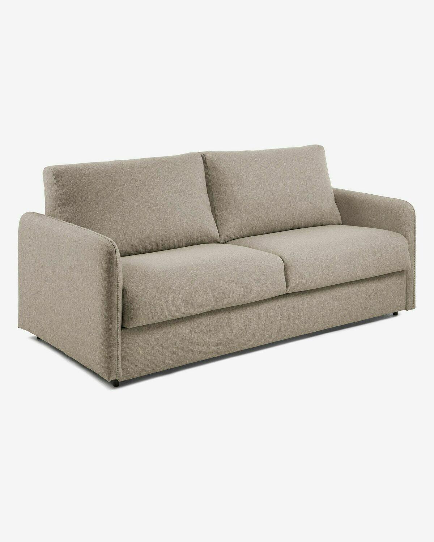 Sofá cama Kymoon 140 cm visco chrono beige