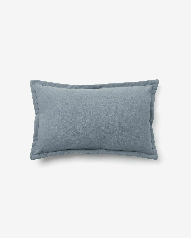 Funda cojín Lisette 30 x 50 cm azul