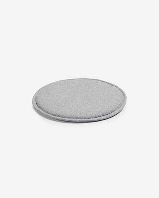 Cojín Silke gris claro