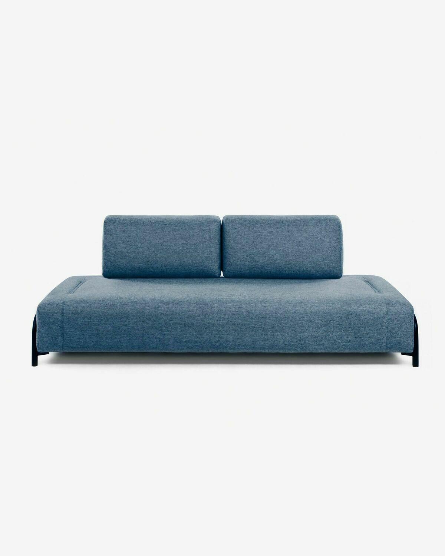 Módulo Compo 3 plazas azul 232 cm
