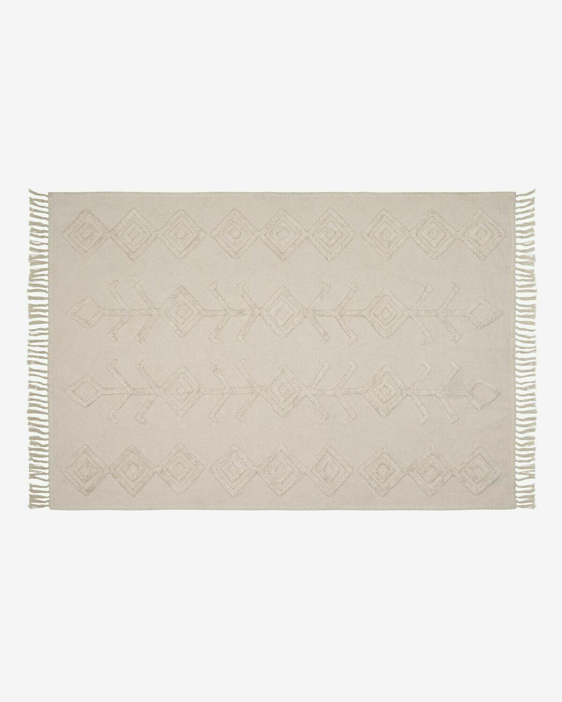 Alfombra Felipa algodón 140 x 200 cm