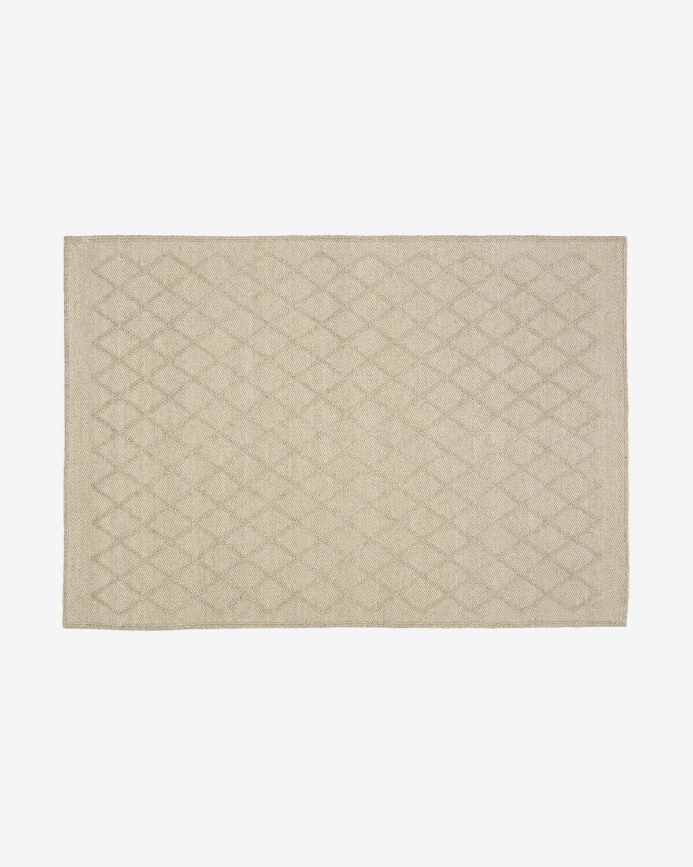 Alfombra Sybil 160 x 230 cm beige