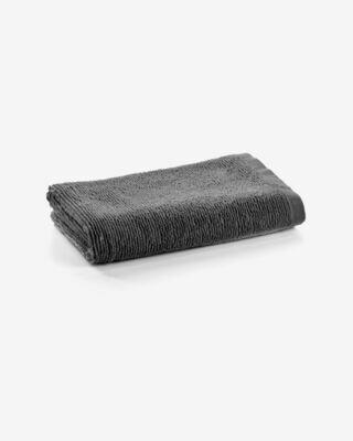 Toalla de baño Miekki pequeña gris oscuro