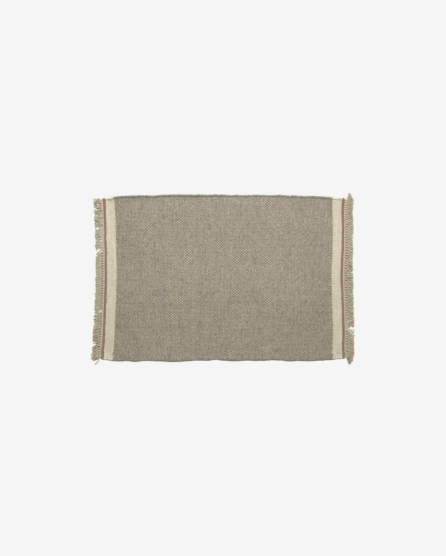 Alfombra Nam 60 x 90 cm gris