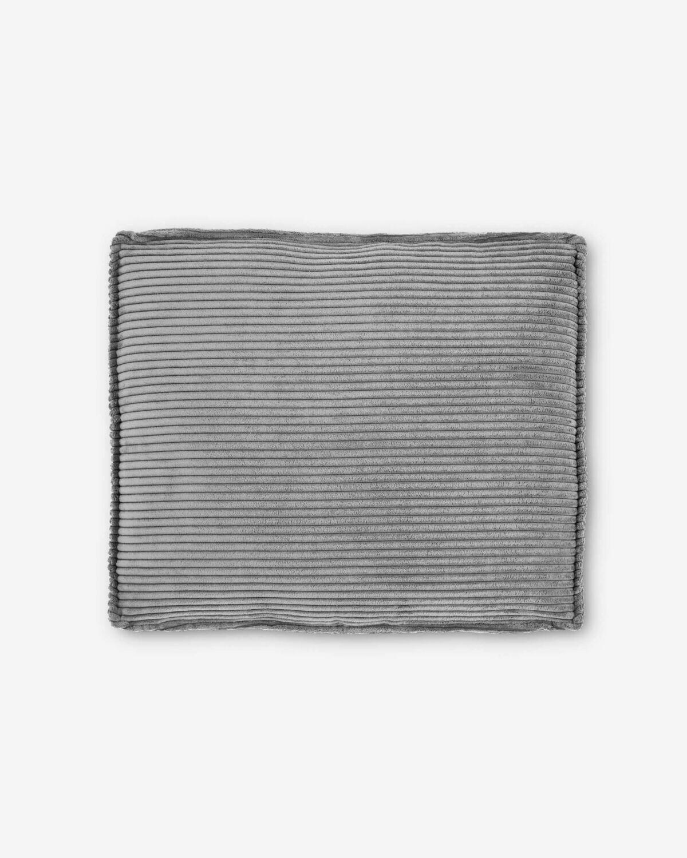 Cojín Blok 50 x 60 cm pana gris