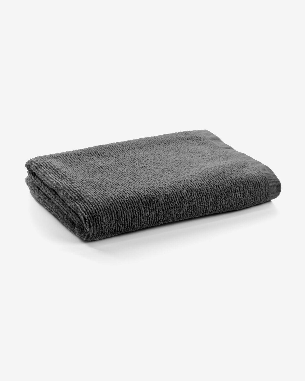 Toalla de baño Miekki grande gris oscuro